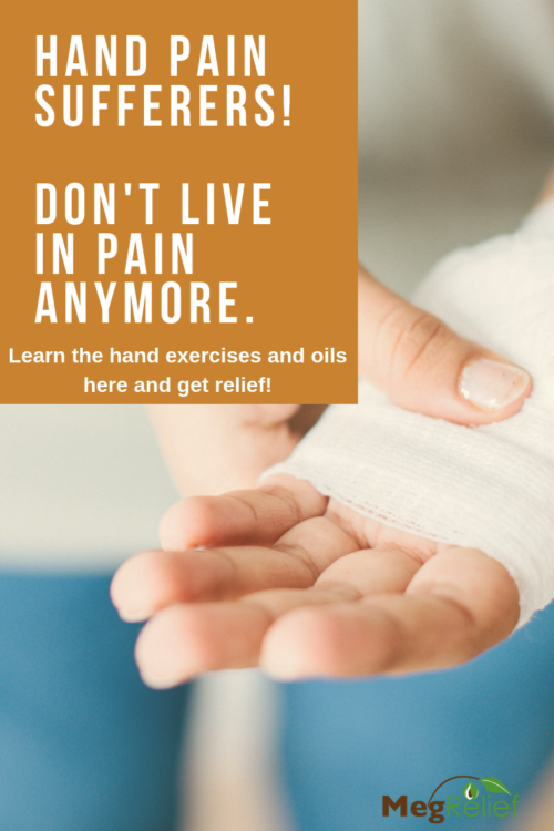 hand pain, joint pain relief