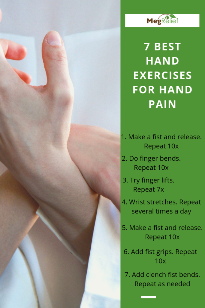 Hand pain exercises