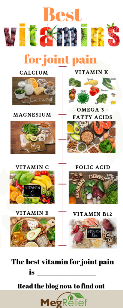 Best vitamins for joint pain are all listed here.  There is one vitamin that stands above the rest for your joints!